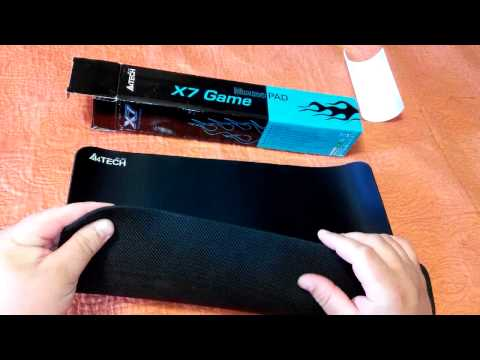 Обзор коврик для мыши A4tech X7 300 MP