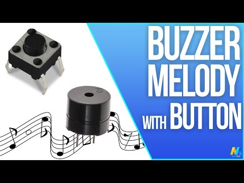 Arduino Tutorial - Button Buzzer Melody