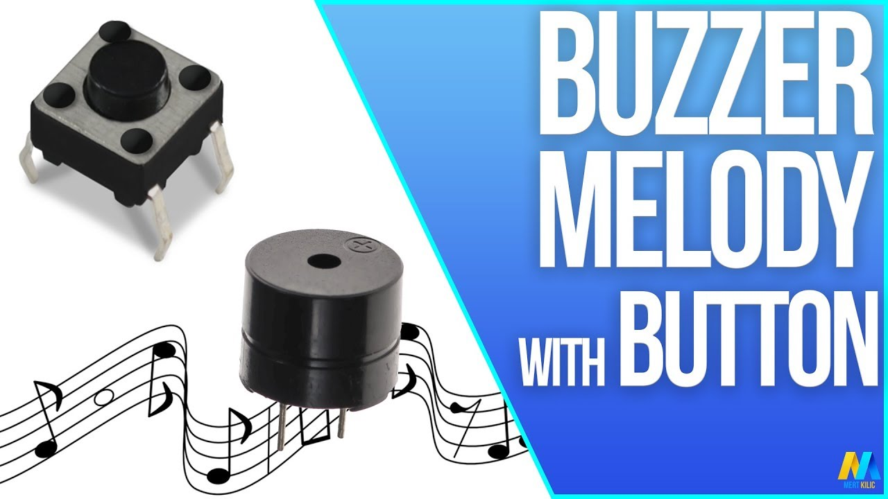 Buzzer Melody with Pushbutton and Arduino