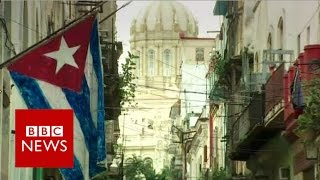 Cuban concerns over US election race - BBC News