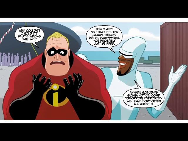 Incredibles 2 Crisis In Mid Life Part 1 Disney Pixar Comic Book #1