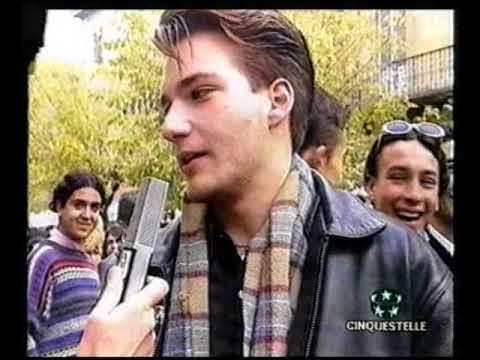 Gli studenti di Olbia protestano contro la criminalità, 1996