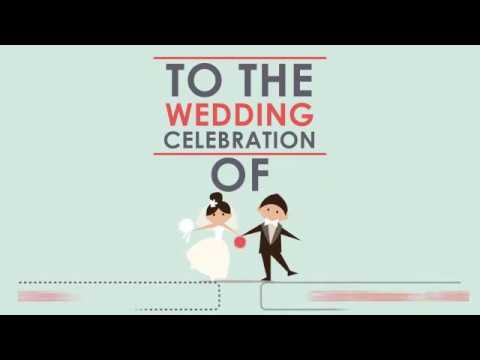 wedding invitation - Galih and Vinda (Motion Graphic)