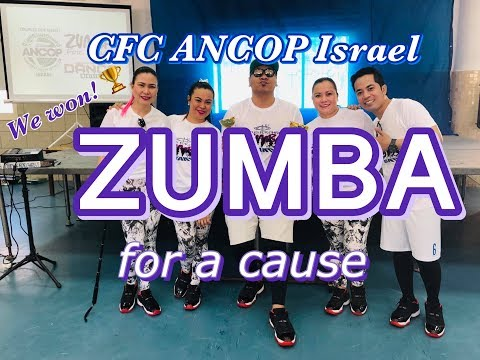 CFC ANCOP Israel Zumba For A Cause | Israel | Holyland