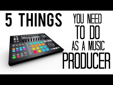 5 Things You NEED To Do As A Music Producer To Be Successful