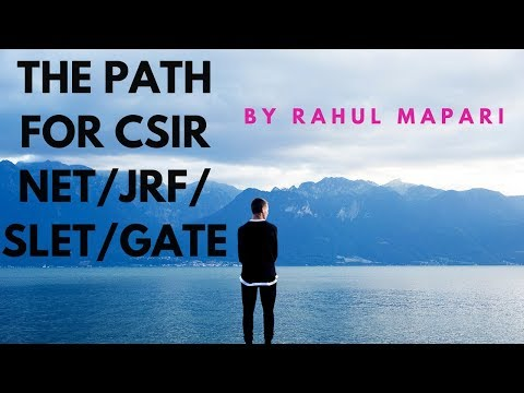 How to Crack CSIR NET Mathematics EXAM