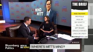 Mark Halperin and Campbell Brown Think Romney Is Running