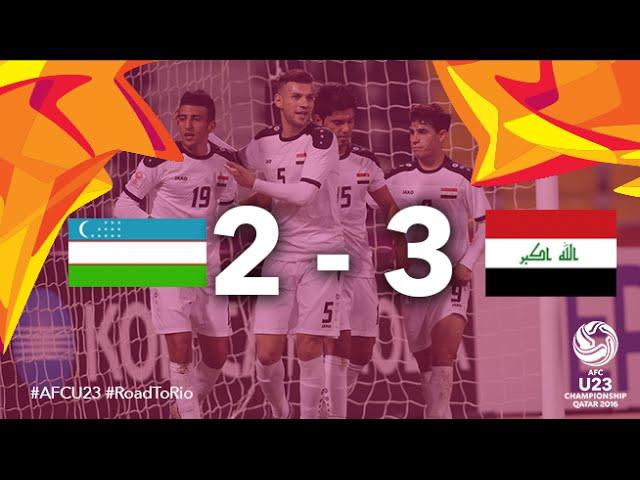 Video: U23 Uzbekistan vs U23 Iraq