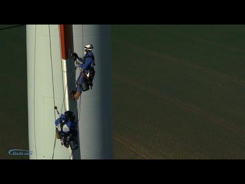 Training On The Job 2017   Rotor Blade Repair