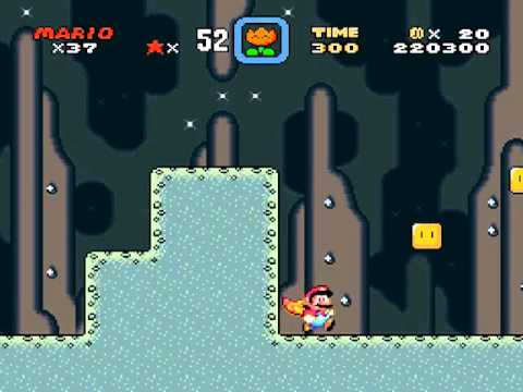 Super Mario World Donut Plains 2 Secret Exit Green Switch