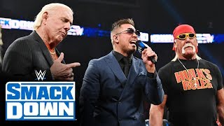 "Team Hogan and Team Flair rivalry heats up on ""Miz TV"