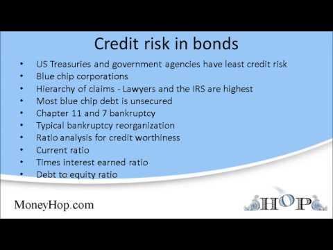 Credit risk in bonds