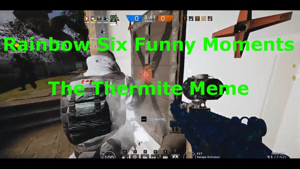Funny Rainbow Meme : Rainbow six siege funny moments the thermite meme youtube