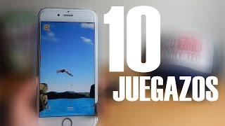 MEJORES 10 JUEGOS PARA IPHONE 7 IOS 10 GRATIS