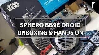 İnceleme Sphero BB-9E Kutulama, Kur & Eller