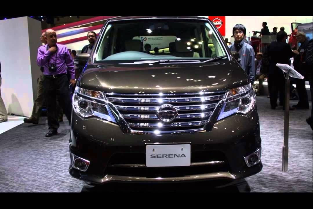 New Nissan Serena 2015 Model Youtube