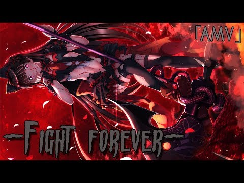 「AMV」 -Fight Forever- [RU]