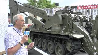 Eurosatory 2014 BAE Systems Terrier Combat Engineer Vehicle - Christopher F Foss
