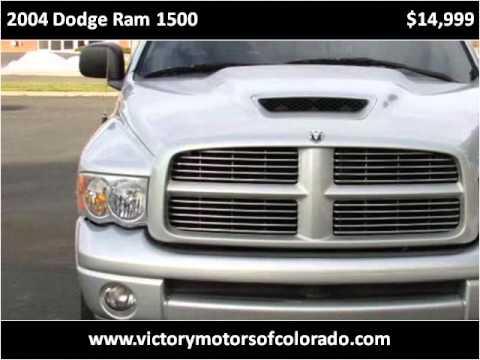 2004 dodge ram 1500 used cars longmont co youtube for Victory motors trucks longmont