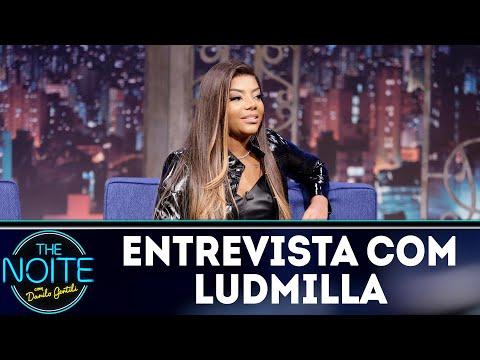 Entrevista com Ludmilla  The Noite 080818