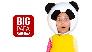 Что случилось с Пандо - Енотом - Приколы - Смешное видео -Кукутики, Маша и Медведи Big Papa Studio