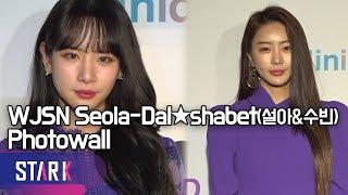 우주소녀 설아-달샤벳 수빈, 봄의 여신들(WJSN Seola, Photowall)