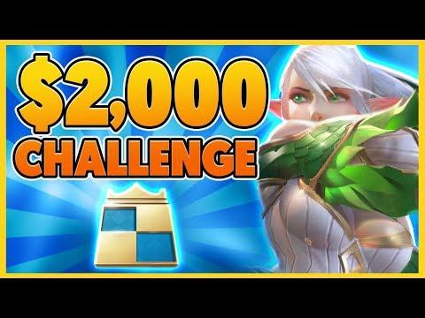 *CRAZY CHALLENGE* I WIN $2,000 THIS GAME (FT. PROFESSOR AKALI) - BunnyFuFuu