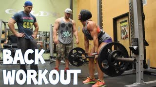 Massive Back Workout With Dana And Rob Bailey | Furious Pete