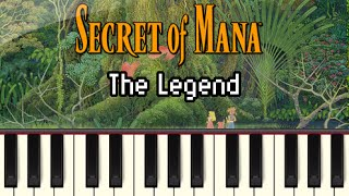 The Legend - Secret of Mana [Synthesia]