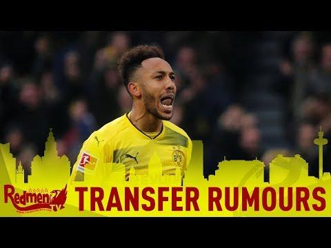 Aubameyang Linked to Liverpool | #LFC Daily News LIVE