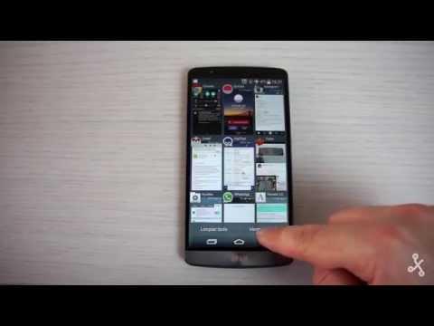 LG G3, toma de contacto en vídeo y primeras impresiones