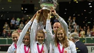 Czech Republic v Serbia - FED CUP FINAL R4 - Official Tennis Highlights | Fed Cup 2012