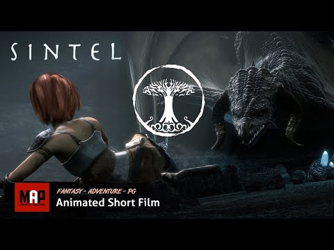 Fantasy Adventure CGI 3d Animated Short Film ** SINTEL ** An