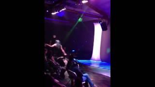 Female impersonator performs Jennifer Lopez Waiting for Ton
