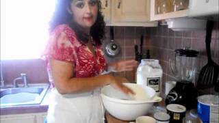 how to make homemade tortillas de harina