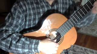 Salut - Joe Dassin - Guitar solo