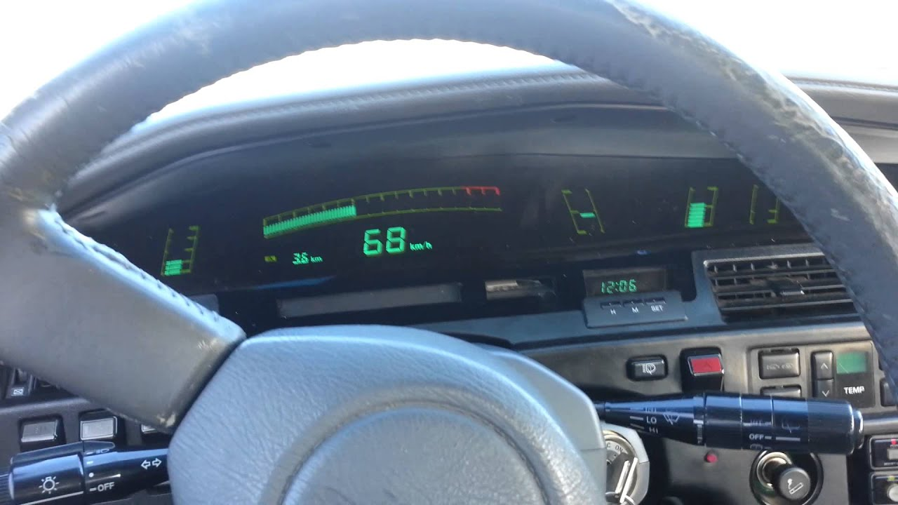 Toyota Supra Mk3 >> Driving with the LHD digital supra dash - YouTube