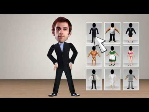 How To Make a 3D Cartoon with Easy To Use 2D Character 3D Animation Software   F