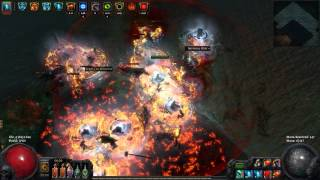 Path of Exile: Crit Dagger Reave Strand run (127k tooltip dps)