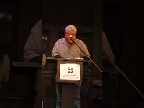 Luis Rodriguez at Writers Resist LA at Beyond Baroque in Venice 1.14.17.