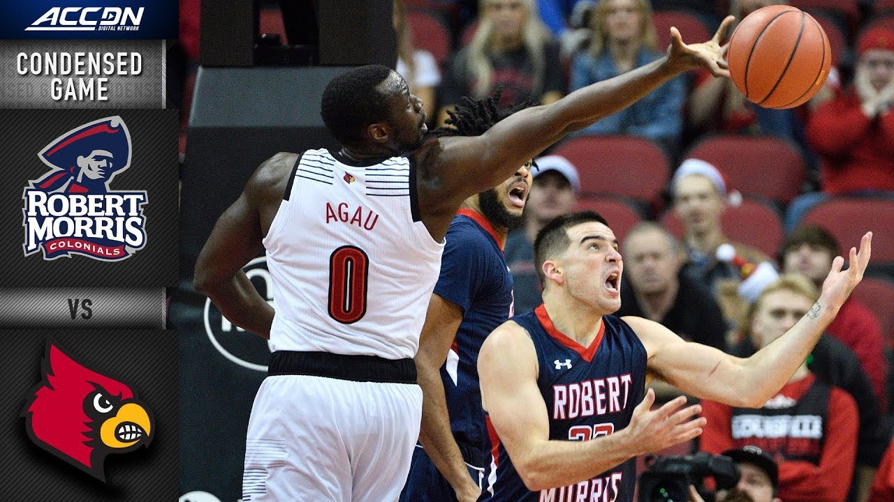 the best attitude 4f87c 3dfec Robert Morris vs. Louisville Condensed Game | 2018-19 ACC Basketball