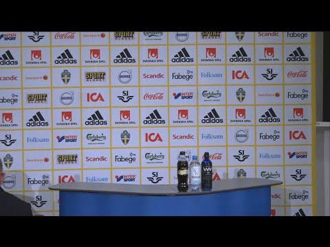 Se hela presskonferensen där Janne Andersson presenterade landslagstruppen  - TV4 Sport