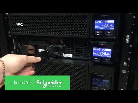 Performing Logic Reset on APC Smart-UPS On-Line SRT Series | Schneider  Electric Support