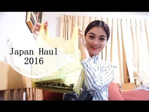[Chalidy68] Japan Haul 2016 เปิดถุงชอปปิ้งญี่ปุ่น