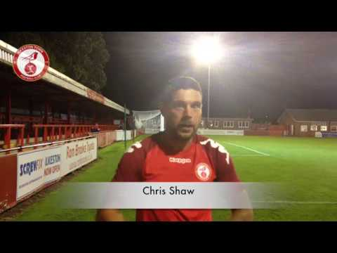 Chris Shaw: Post Match Interview v Long Eaton United H