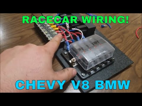 hqdefault Race Car Using Relays Wiring Panel on basic engine, harness kit, nice neat, pro stock, wires pliers, wire color choices for, made simple, external fuse box, parts west michigan,