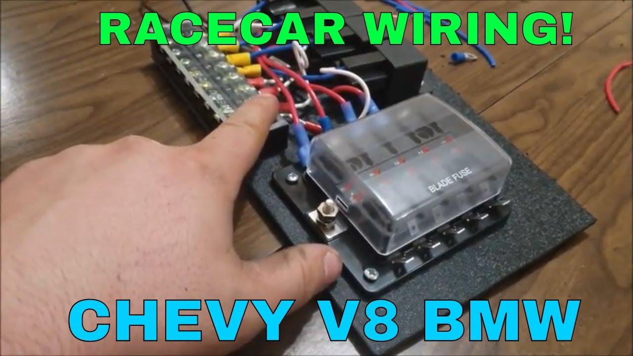 Racecar Wiring - YouTube | Wiring Up A Race Car |  | YouTube