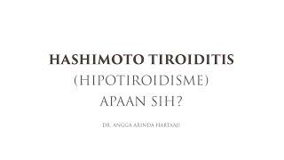 Video pembelajaran ini membahas tentang mekanisme patofisiologi terjadinya hipotiroidisme mulai dari.