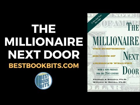 The Millionaire Next Door | Thomas Stanley | Book Summary | Bestbookbits.com