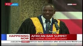 Deputy President William Ruto addresses African Bar Summit